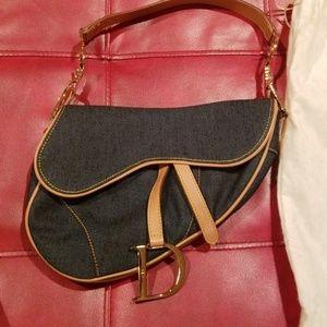 Vintage 100% authentic Dior Saddle Bag